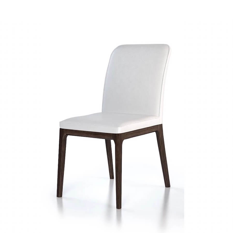 Lisbon Leather Dining Chair | Industrial Revolution Furniture Vancouver