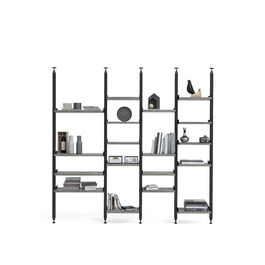 Slim Shelving System Configuration 4 | Industrial Revolution Vancouver
